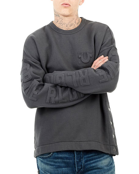 Oversized Fleece Knit Sweater