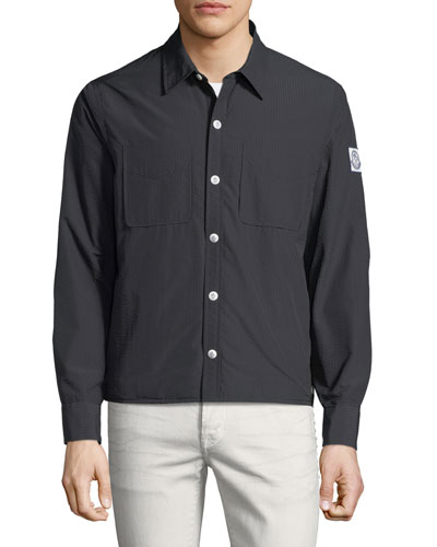 Giubbotto Seersucker Field Jacket