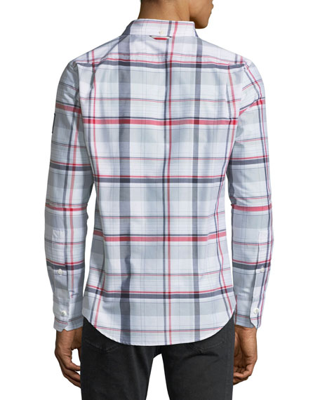 Camicia Plaid Sport Shirt