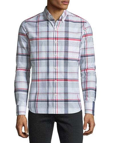 Camicia Plaid Sport Shirt