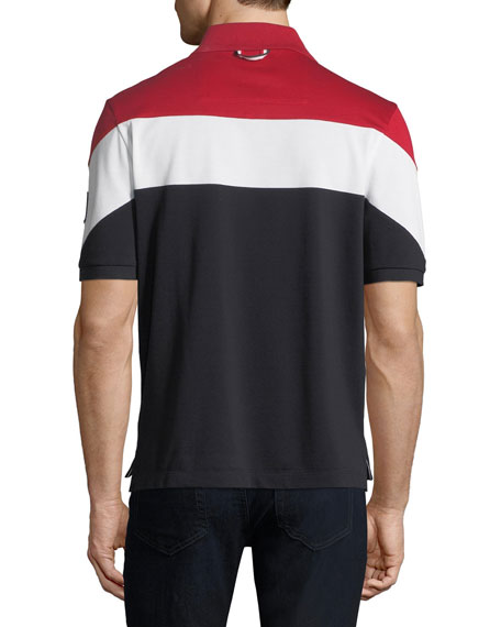 Men's Maglia Colorblock Polo Shirt