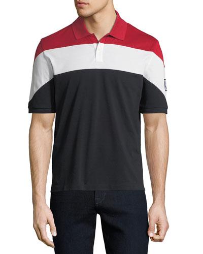 Men's Maglia Colorblock Polo Shirt