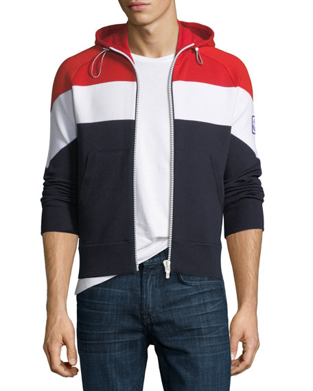 Moncler Gamme Bleu Maglia Tricot Hoodie