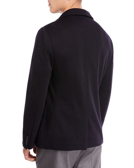 Double-Face Jersey-Knit Jacket