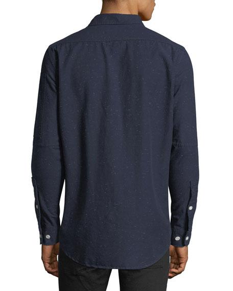 Stalt Clean Lightweight Premium Denim Shirt