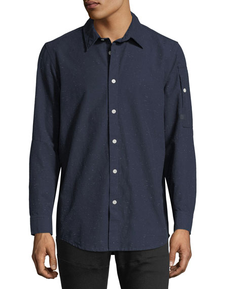 G-Star Stalt Clean Lightweight Premium Denim Shirt