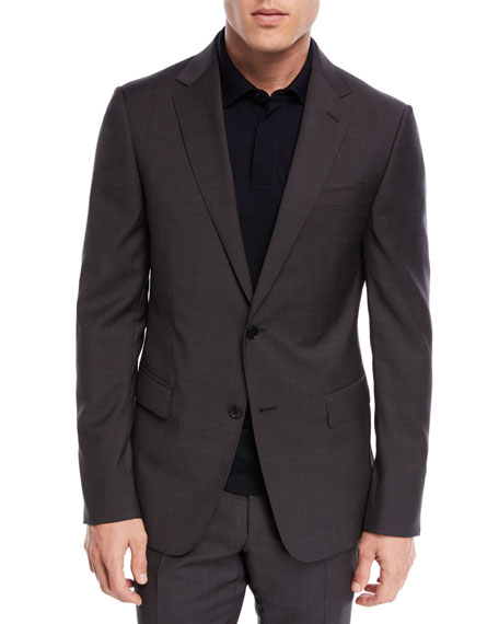 Drop 8 Two-Piece Wool Suit