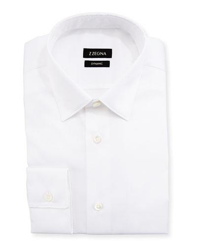 Solid Dynamic Dress Shirt