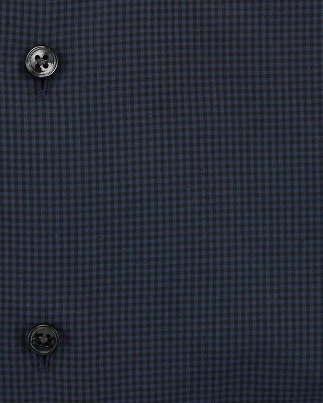 Mini Check Dress Shirt