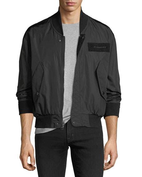 Burberry Hawton Reversible Bomber Jacket