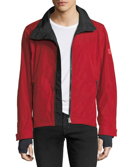 Burberry Headson Jacket w/ Removable Hood
