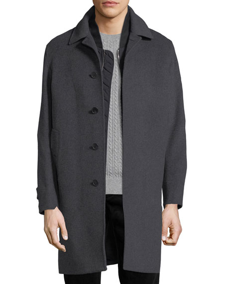 Burberry Morestead 2-in-1 Top Coat & Gilet