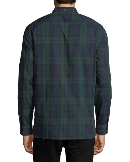 Salwick Check Cotton Sport Shirt