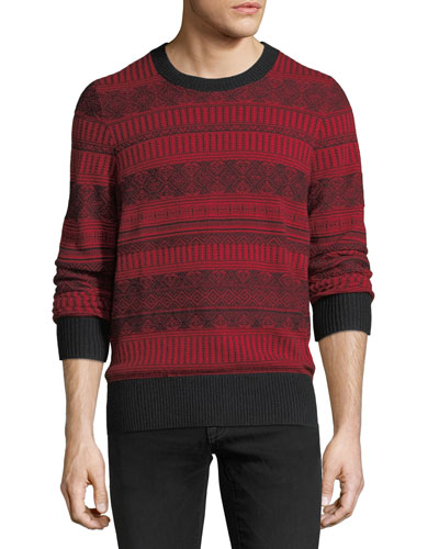 Ceramic Fair Isle Cashmere Sweater