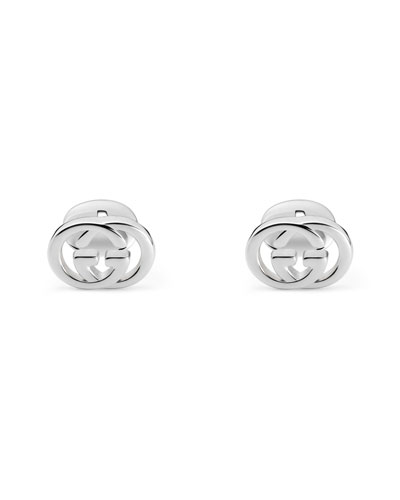 Interlocking GG Sterling Silver Cufflinks