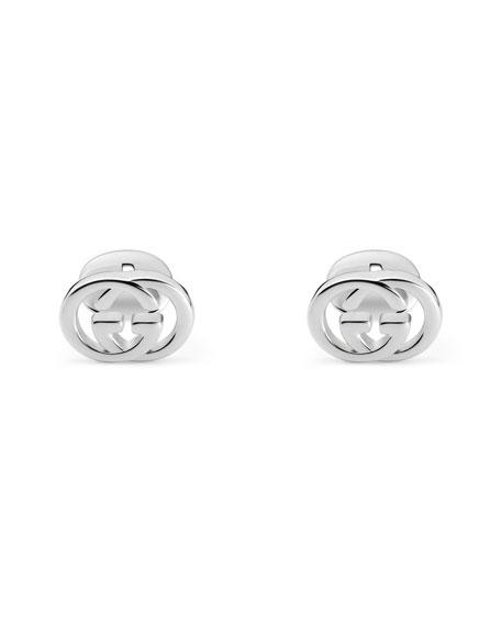 Interlocking GG Sterling Silver Cufflinks