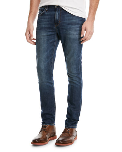 Men's Slim-Straight Denim Jeans, Yates