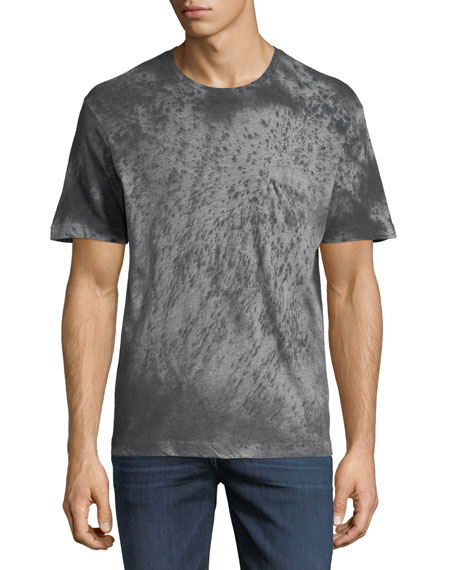 Men's Stained Heather Crewneck T-Shirt