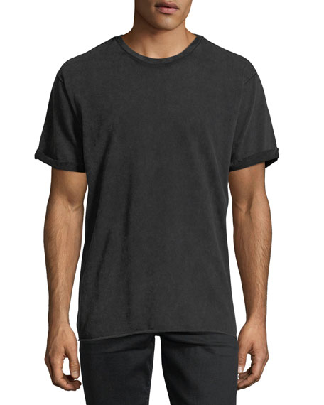 Joe's Jeans Mile Sueded Cotton Crewneck T-Shirt