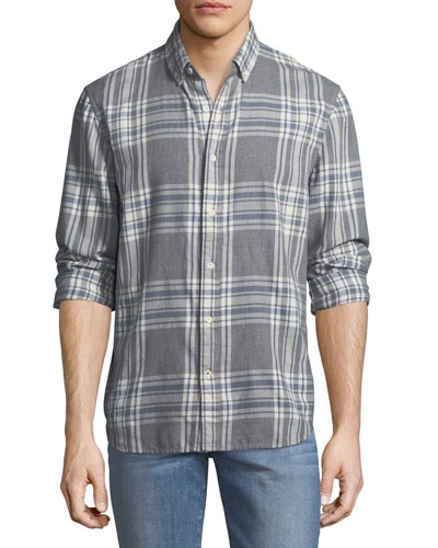 Piper Herringbone Sport Shirt
