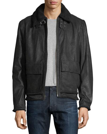 Joe's Jeans Lauda Leather Jacket