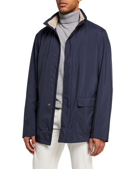 Loro Piana Voyager Zip-Front Coat and Matching Items