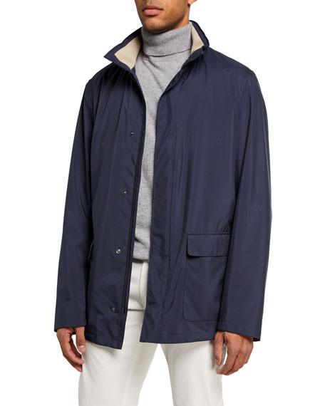 Voyager Zip-Front Coat