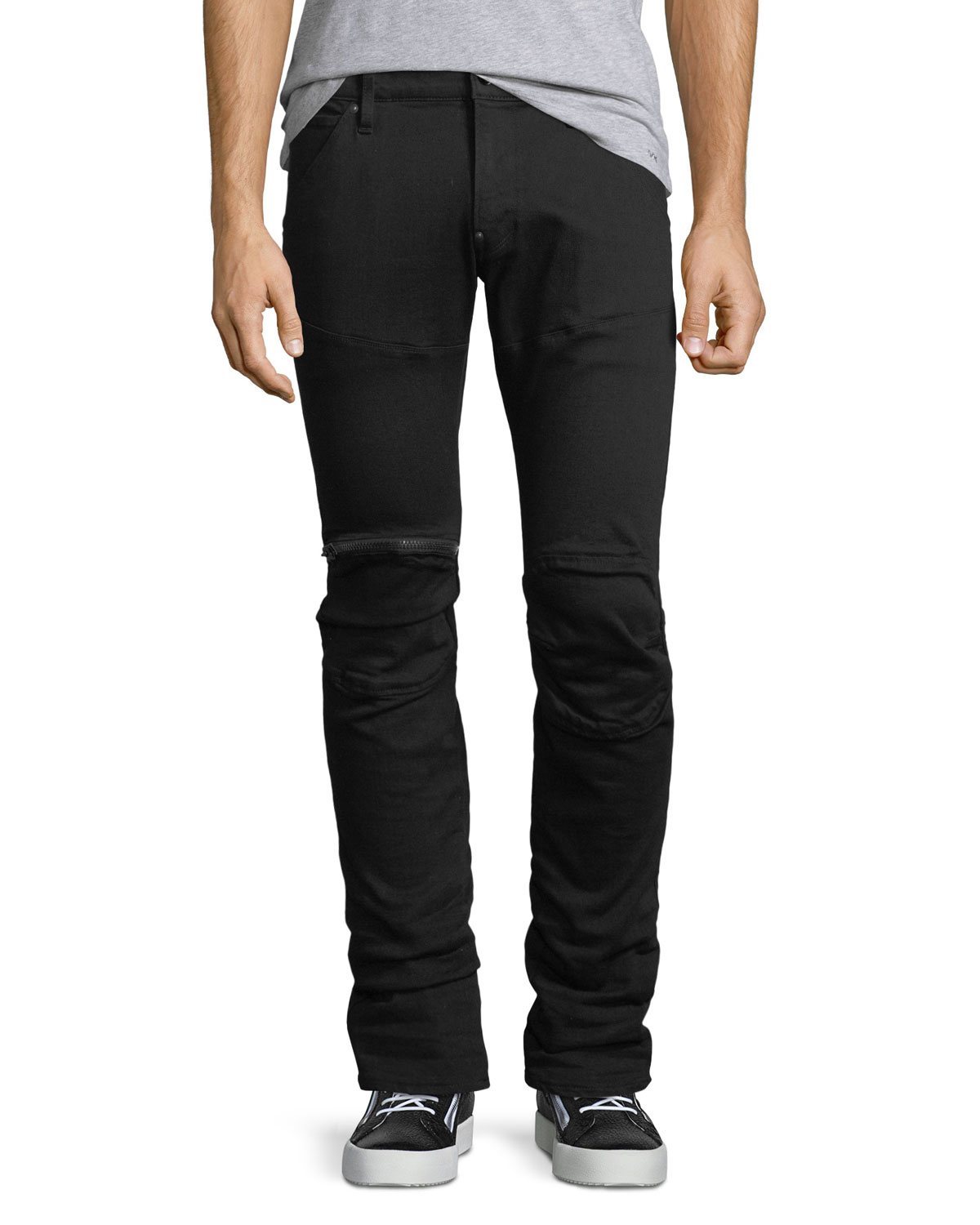 76e20a35f92 G-Star 5620 Slim Zip-Knee Jeans | Neiman Marcus