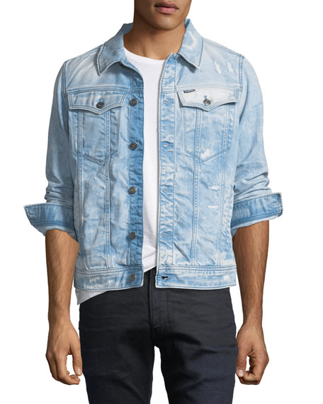 3301 Deconstructed Slim-Fit Jacket