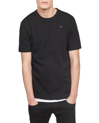 Conquaestor Jersey T-Shirt, Dark Black