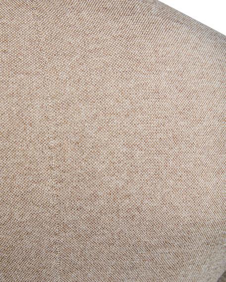 Cashmere-Blend Pique-Knit Jacket