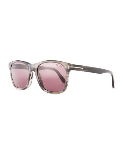 Eric Ombre Acetate Sunglasses