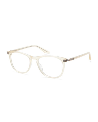 Lautner Translucent Acetate  Reading Glasses-2.5