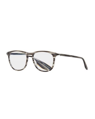 Lautner Striped Acetate Optical Glasses