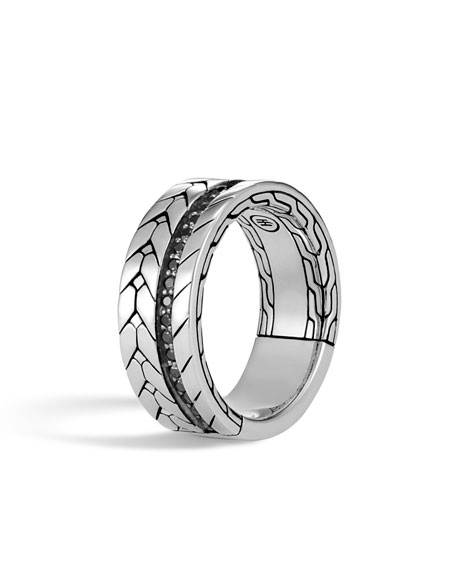 Men's Modern Chain Ring, Size 10