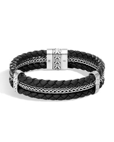 Men's Classic Chain Woven Bracelet
