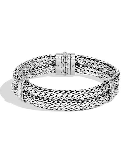 John Hardy Mens Classic Chain Stacked Bracelet Yl1qlZp2
