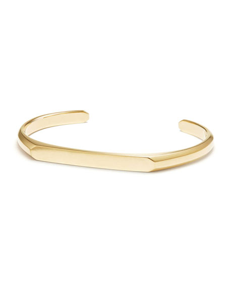 David Yurman Men S 5 5mm 18k Gold Streamline Cuff Bracelet