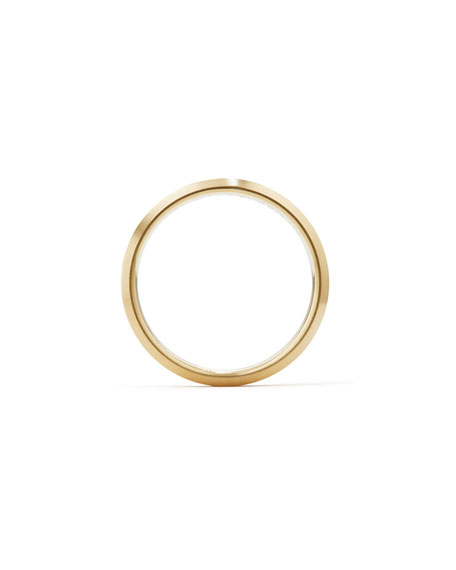 Streamline Men's 5mm 18K Gold Band Ring