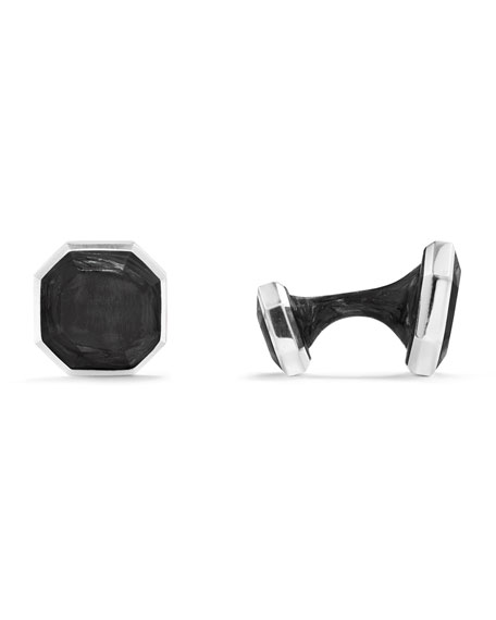 David Yurman Forged Carbon Cuff Links