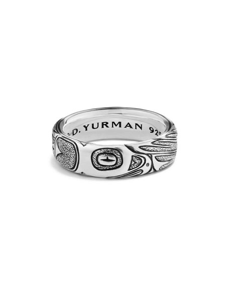 Northwest Sterling Silver Band Ring