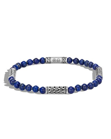 John Hardy Men's Classic Chain Lapis Bracelet