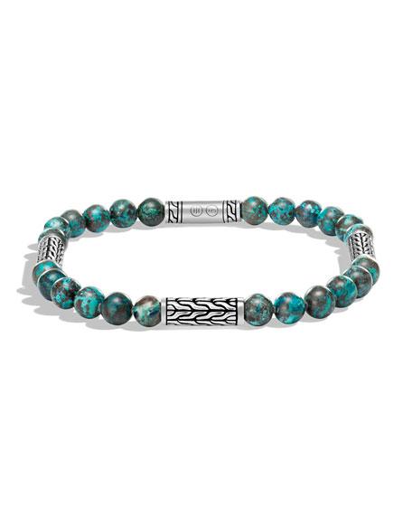 John Hardy Men's Classic Chain Chrysocolla Bracelet
