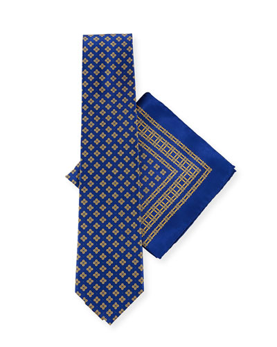 Medium Flower Tie Set