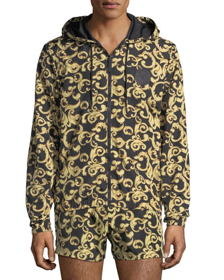 Versace Barocco Net Zip-Front Jacket and Matching Items