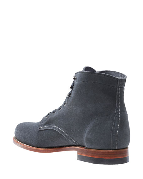 Original 1000 Mile Suede Boot, Gray