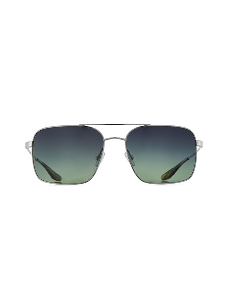 Men's Volair Square Metal Sunglasses
