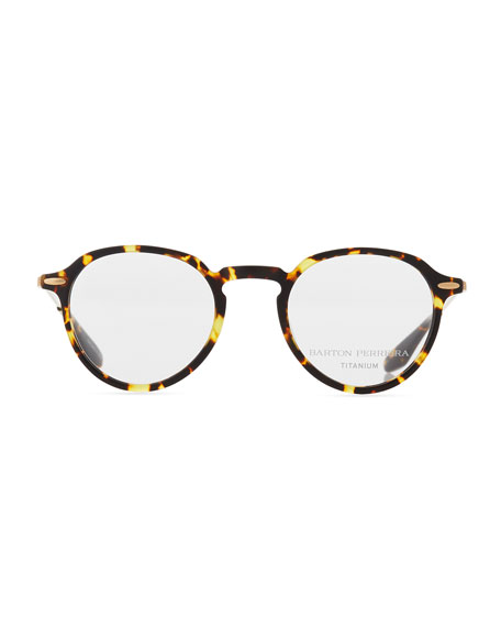 Elon Tortoiseshell Round Optical Glasses