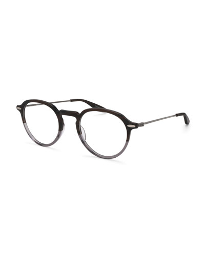 Elon Two-Tone Round Optical Glasses