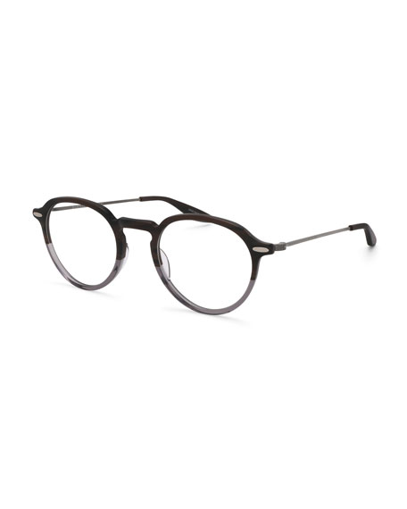 Barton Perreira Elon Two-Tone Round Optical Glasses